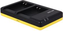 Dubbelladdare för 2 batterier Nikon EN-EL23