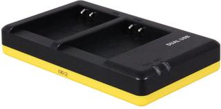 Dobbeltoplader til to batterier Nikon EN-EL23