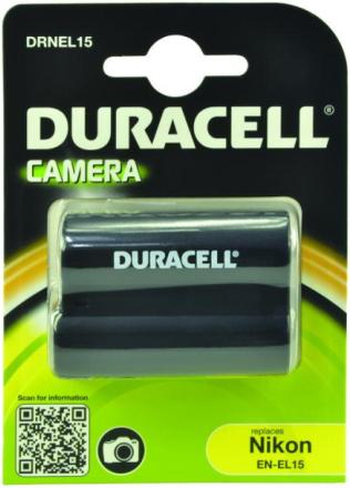 Duracell kamerabatteri EN-EL15 till Nikon