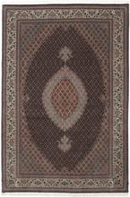 Tabriz 50 Raj med silke matta 202x304 Persisk Matta