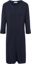 Stickad klänning från Peter Hahn blå