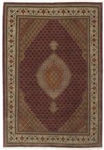 Tabriz 50 Raj med silke matta 207x304 Persisk Matta
