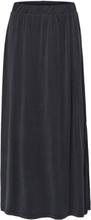 SELECTED Mid Waist - Maxi Skirt Women Black