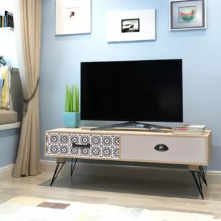 TV-Bord 100x40x35 cm Brun