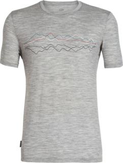 Icebreaker Tech Lite Icebreaker Original SS Crewe Shirt Men metro heather S 2019 Løpetrøyer kortermet