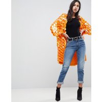 ASOS Färgstark kimono med paljetter - Orange