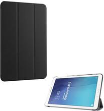 Gaarder Lines Skinn belagt etui for Samsung Galaxy Tab E 9.6 T560 med Tri-fold Stand. Sort