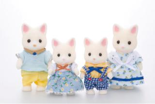 Sylvanian Families Familien - Katte Familien Seidenthal
