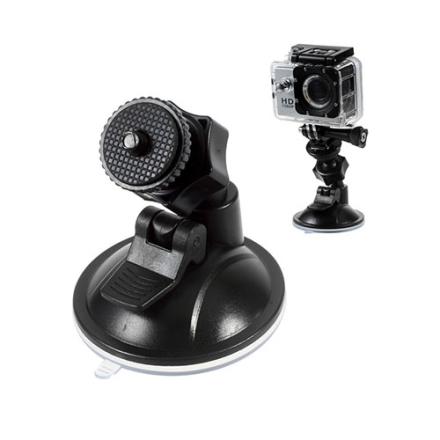 Sugekopp for frontruten i bilen for GoPro Hero 4 Session - Sort