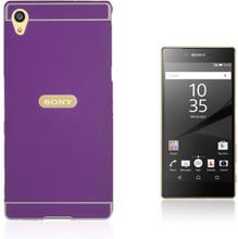 Egeland Sony Xperia Z5 Premium deksel med Støtfanger - Lilla
