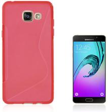 Lagerlöf TPU deksel for Samsung Galaxy A5 SM-A510F (2016) - Rød