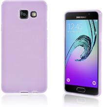 Solid Jelly TPU deksel for Samsung Galaxy A3 SM-A310F (2016) - lilla