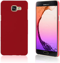 Gummibelagt hard deksel for Samsung Galaxy A5 SM-A510F (2016) - Red