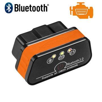 Konnwei KW901 ELM327 Bluetooth OBD2 Bildiagnostik Værktøj