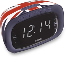 Nikkei clockradio NR200UK Union Jack-design