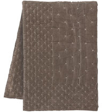 Överkast Paolo, 270x260 cm, mullvadsbrun, 270X260