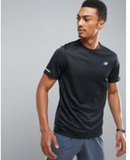 New Balance Running impact t-shirt in black mt63223bk - Black