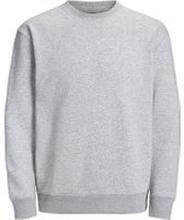 JACK & JONES Enfärgad Sweatshirt Man Grå