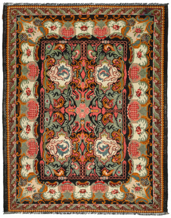 Rosekelim teppe 215x275 Orientalsk Teppe