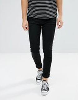 Weekday Form Super Skinny Jean Black - Black