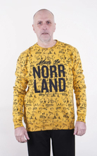 SQRTN Made In Crewneck Into Mustard