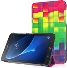 Holberg Samsung Galaxy Tab A 7.0 Læretui - 3D Visuell effekt bokser