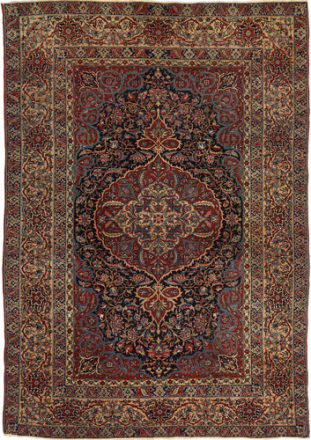 Isfahan Antikke teppe 147x215 Persisk Teppe