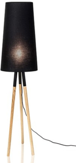 Globen Lighting Golvlampa Oslo Svart
