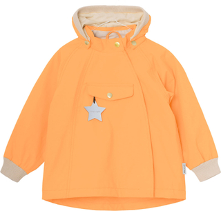 Mini A Ture Wai vårjakke til baby og barn, Chamois Orange