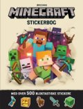 Minecraft Stickerbog Med Over 500 Klistermærker - Gucca