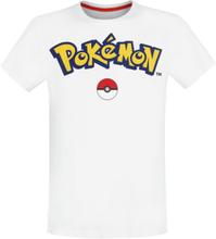 Pokémon - Logo -T-skjorte - hvit