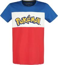 Pokémon - Logo -T-skjorte - flerfarget