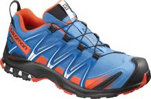 Salomon XA Pro 3D GTX Shoes Herr indigo bunting/sky diver/cherry tomato 2019 UK 7,5 | EU 41 1/3 Trailrunning Skor
