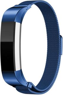 Fitbit Alta klokkereim av rustfritt stål m. magnet - Blå