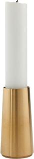 CONIC brass lysestage, 7 cm