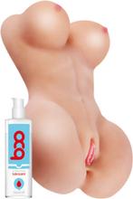 Realstuff The Perfect Body 50cm + Waterbased Lubricant 150ml Paketerbjudande