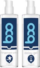 Erektionspaket BOO Erektionskräm + Fördröjnings gel Paketerbjudande