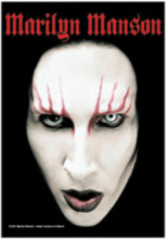 Flagga - marilyn manson - head shot