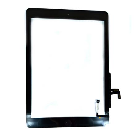 Displayglas + Touch Display Skärm Näyttö - Musta väri