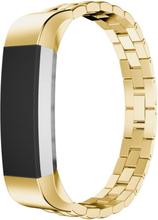 Fitbit Alta treperlet klokkereim av rustfritt stål - Gull