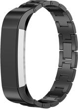 Fitbit Alta klokkereim av rustfritt stål - Svart
