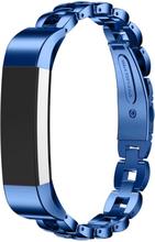 Fitbit Alta solid lenket klokkereim av rustfritt stål - Blå