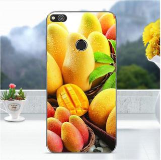 Huawei Honor 8 Lite softlyfit embossed TPU case - Mango