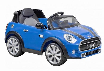 HECHT BMW MINI HATCH BLUE SAMOCHÓD ELEKTRYCZNY AKUMULATOROWY AUTO JEŹDZIK ZABAWKA DLA DZIECI z PILOTEM - EWIMAX OFICJALNY DYSTRYBUTOR - AUTORYZOWANY DEALER HECHT