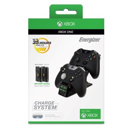 PDP Energizer 2X Charging System for Xbox One