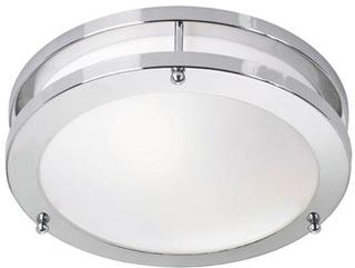 Markslöjd Täby LED Plafond Krom/Vit Markslöjd