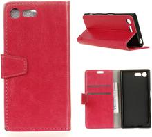 Sony Xperia Xz Premium Horse Magnetisk Lær Flip Etui - Rose