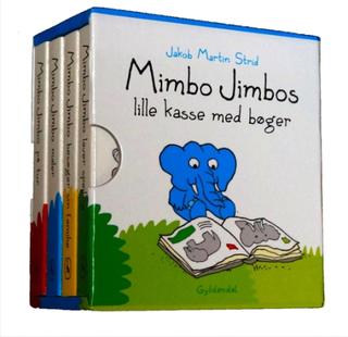 Mimbo Jimbos lille kasse med bøger (Bog)