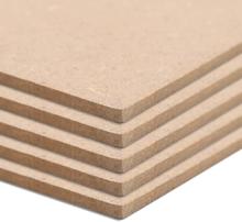 vidaXL MDF-skivor 10 st rektangulära 120x60 cm 2,5 mm