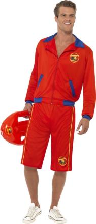Kostume livredder Baywatch voksen - Vegaoo.dk